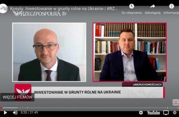 Interview with Partner Andriy Kosylo for Rzeczpospolita TV